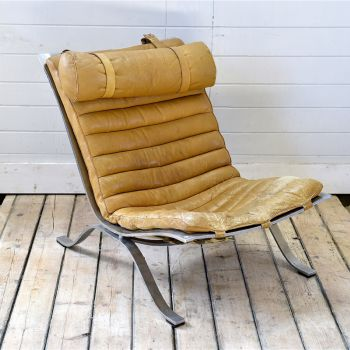 Leather Chair By Norell
