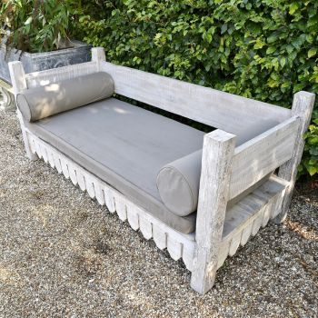 Reclaimed Teak Day Bed