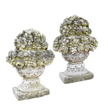 18th Century Fruit Bowl Finials