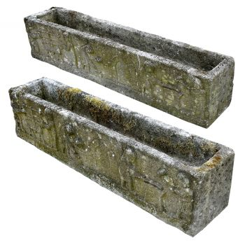 A Pair of Stone Troughs
