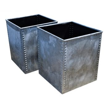 Galvanised Steel Planters
