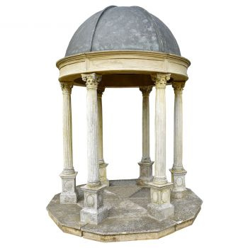 Classical Rotunda with faux lead roof