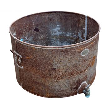 Wrought Iron Cheese Vat