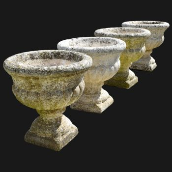 Set of 4 Classical Urns