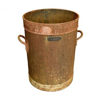 Antique Iron Pot