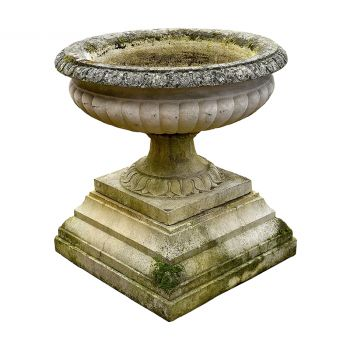 Large Urn and Plinth