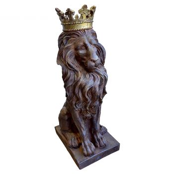 Lion with Crown Figure