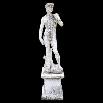 Marble Form after Michelangelo's David