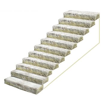 Set of Stone Steps