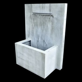 Zinc Wall Fountain