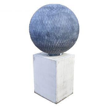 Zinc Sphere Sculpture