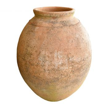 19th Century Terracotta Olive Jar