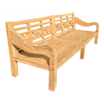 Extra Large Teak Bench Day Bed